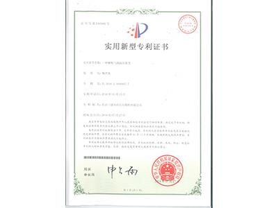 解吸气测流量装置专利证书