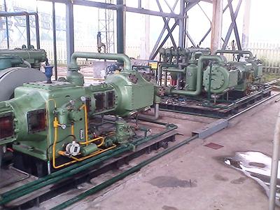 天然气压缩机  工程案例